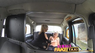 Femalefaketaxi Finger-fucking Fit Bird